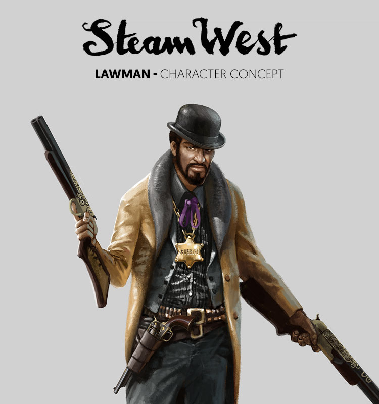 <i>Lawman</i><span>Character design</span>