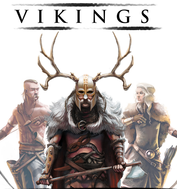 <i>Vikings</i><span>Character design</span>